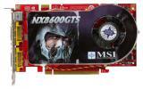 MSI GeForce 8600 GTS 675Mhz PCI-E 256Mb 2000Mhz 128 bit 2xDVI TV HDCP YPrPb