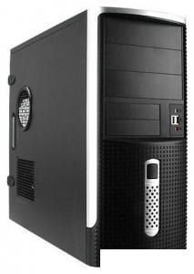 Корпус ATX InWin EAR-001 400Вт черный/серебристый