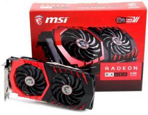 MSI Radeon RX 480 1316Mhz PCI-E 3.0 4096Mb 7100Mhz 256 bit DVI 2xHDMI HDCP
