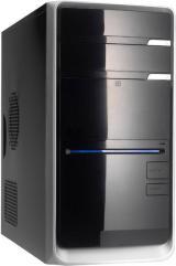 Корпус microATX LINKWORLD 72й серии черный/серебристый